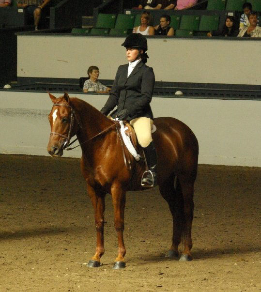 Breanna at show